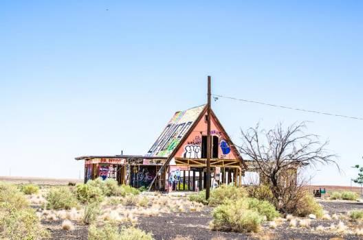 Forgotten Architecture In The Desert #407703