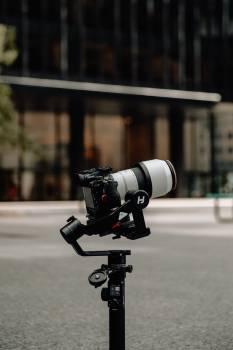 Camera Set Up Outside #407896