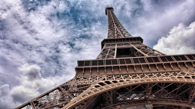Eiffel Tower Closeup Free Photo #408049