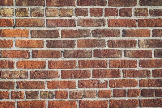 Brick Wall Cement Free Photo