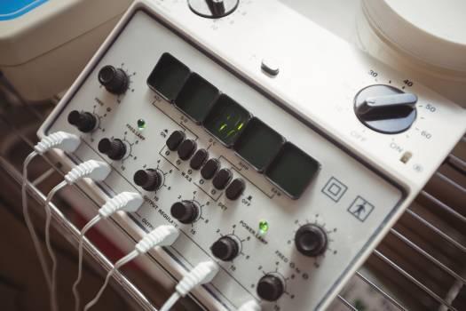 Close-up of electro stimulation device #408834