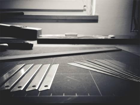 Blueprint Black White Ruler Tools Blade Free Photo #408858