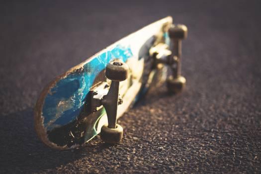 Skateboard Old Side Free Photo #408884