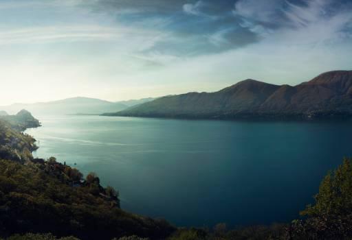 Mountains Blue Lake #408996