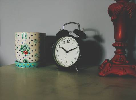 Black Alarm Clock Free Photo Free Photo