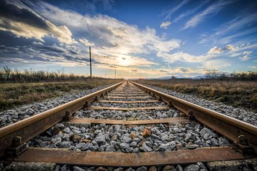 Old Railway Tracks Free Photo #409047