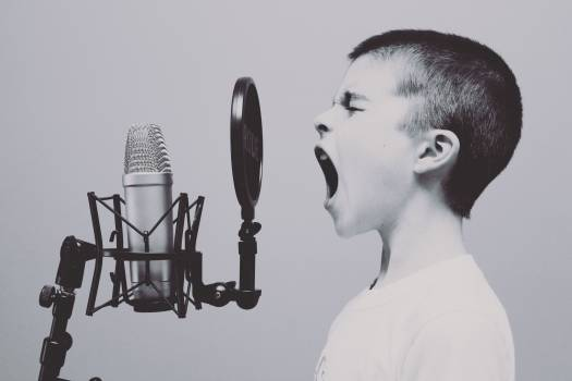 Microphone Boy Studio Free Photo #409128