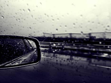 Car Window Rain Drops #409144