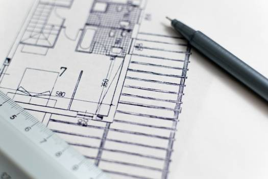 Architecture Drawing Ruler Pen Free Photo #409160