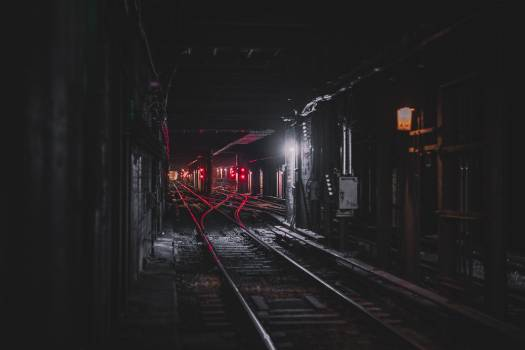 Underground Subway Train Tunnel Free Photo #409206