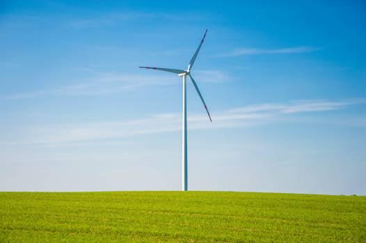 Wind turbine in field #409218
