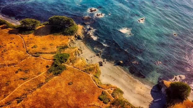 California Coast Beach Free Photo #409246