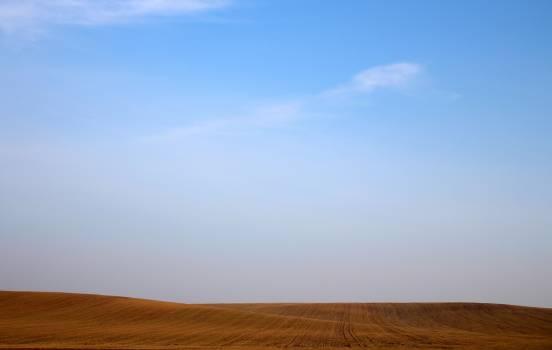 Blue Skyline Environment Field #409253