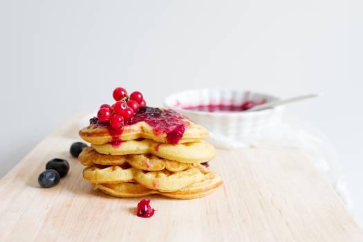 Waffles Food Dessert #409271