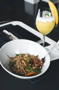 Thai noodles in a restaurant #409287