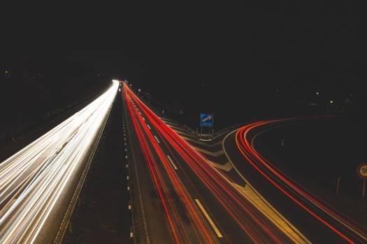 Highway Traffic Lights Free Photo #409332