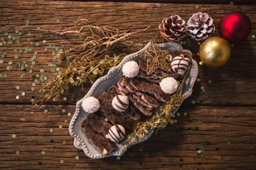 Christmas dessert and christmas decoration #409570
