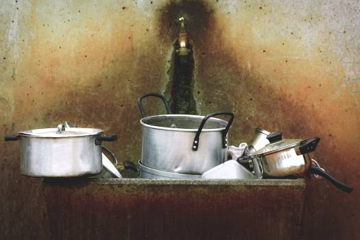 Stainless Steel Cooking Pot #40970