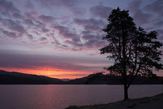 Sunset over Lake Free Photo #409899