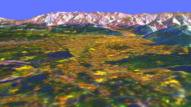Space Radar Image of Missoula, Montana in 3-D #409912