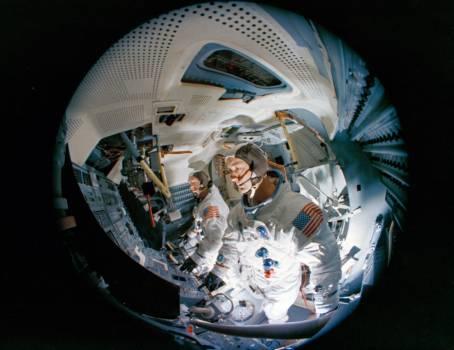 Crew Training - Apollo 9 - KSC #410193