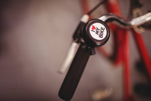 Close-up of a bicycle bell #410361