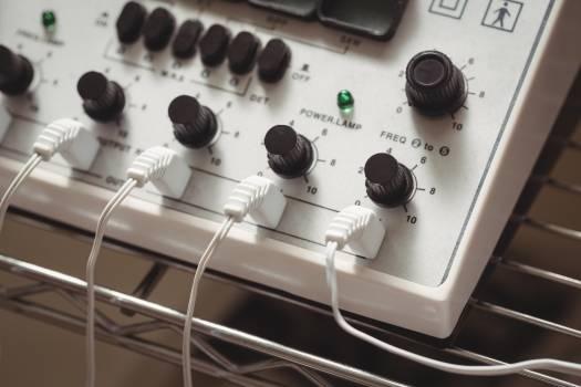 Close-up of electro stimulation device #410468