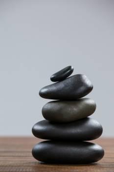 Stack of pebble stones #410526