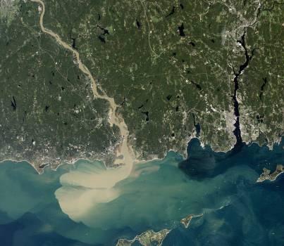 Sediment Spews from Connecticut River #410806