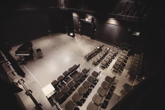 View of empty auditorium #410931