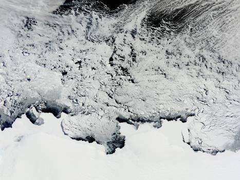 NASA Satellite View of Antarctica #411003
