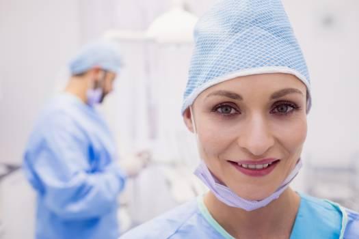 Portrait of female dentist #411080