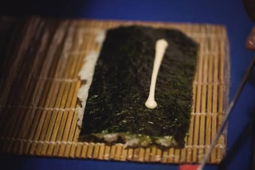 Chef preparing sushi #411381