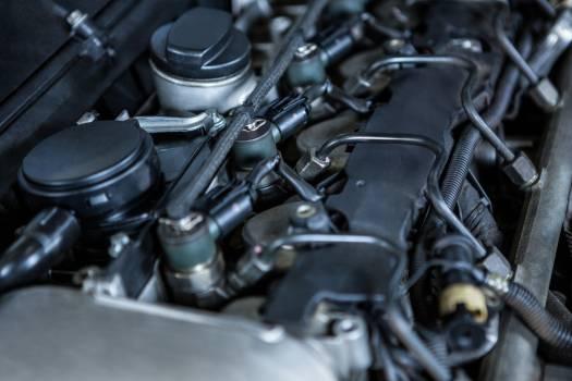 Close-up of car engine #411444