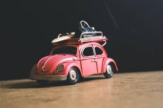 Red Volkswagen Toy #41149