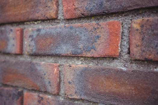 Modern brick wall background #411553