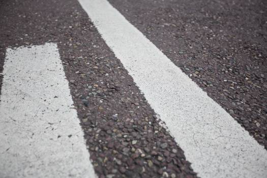 Road marking on road surface #411711
