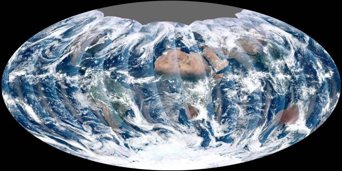 First Global Image from VIIRS Free Photo