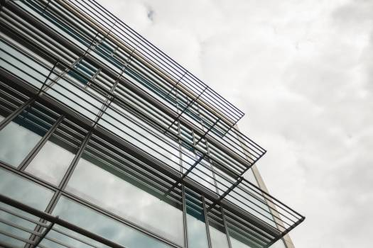 Low angle of office building #412076