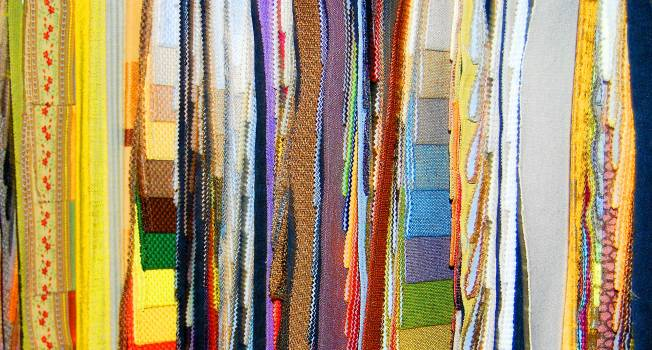 Layers of fabric #412330
