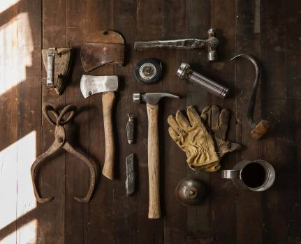 Vintage Carpenter Tools Free Photo #412856