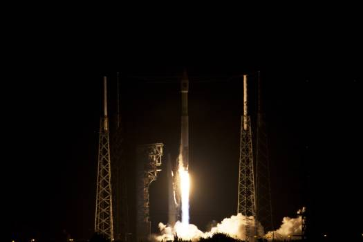 Cygnus Orbital ATK OA-6 Liftoff #412927