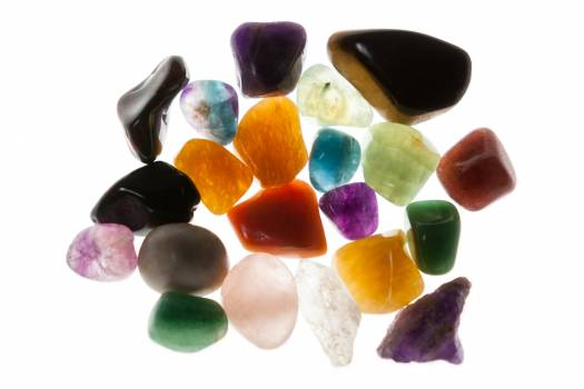 Colorful pebbles stones #412992