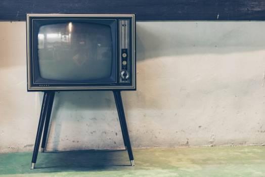 Retro Television Set Free Photo #413039