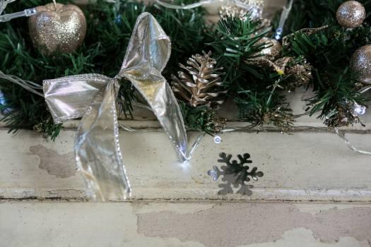 Decorations on christmas tree #413264