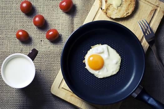 Breakfast Eggs Bread Free Photo #413283