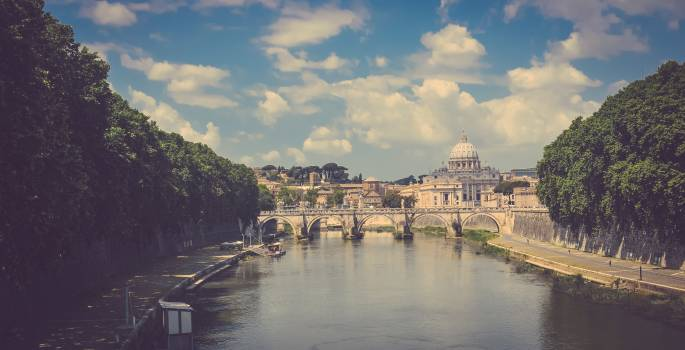 City View Of Rome Free Photo