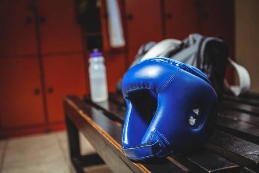 Close-up of boxing headgear #413311