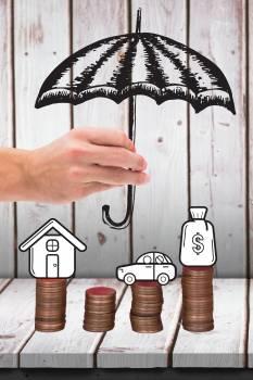 umbrella graphic over cash graphics #413346