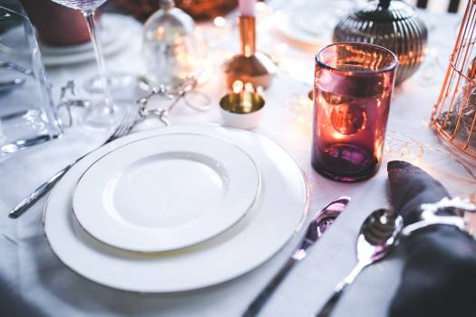 White Tableware #413602